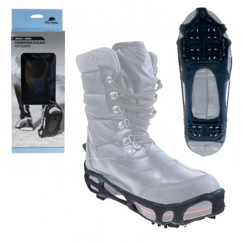 CRAMPONS À GLACE & NEIGE SNOW GRIP TRACTION SEMELLE ANTIDÉRAPANTE